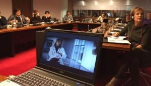 Intervención Parlamento de Navarra